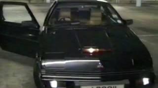 "Mitsubishi Starion ""KITT"" Turbo"