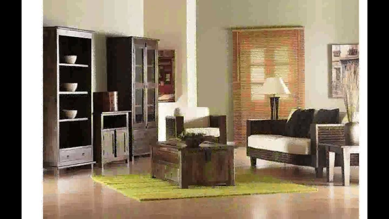 Muebles decorativos en madera youtube for Muebles decorativos para sala