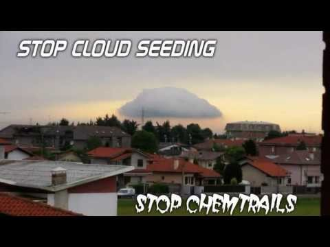Chemtrails   Artificial Cloud (100% by Cloud Seeding )