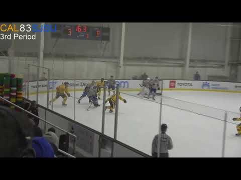 Cal Ice Hockey Live Stream: Cal Vs. San Jose State (Game 1)