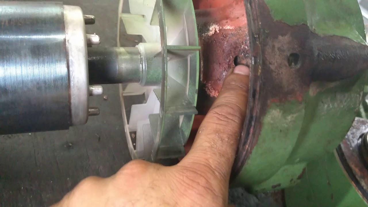 Manutenção em bomba d'água famac