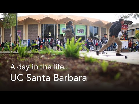A Day in the Life of UC Santa Barbara