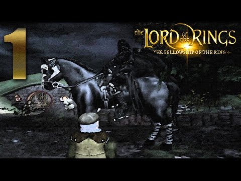 Lord of the Rings: Fellowship of the Ring Gameplay Walkthrough - Part 1 [No Commentary]