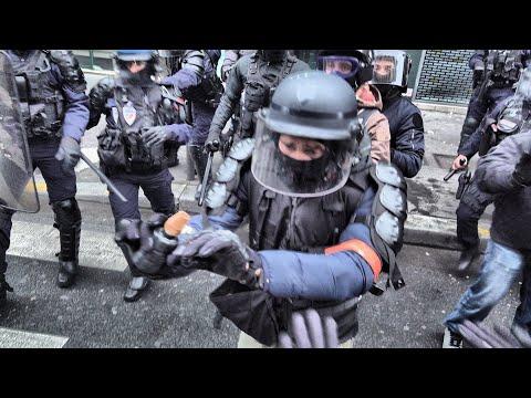 « Grève Générale : Police Sans états D'âme »