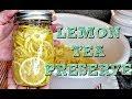 Korean Style Citrus Fruit Tea | Lemon Preserve for Tea | Simply Mama Cooks