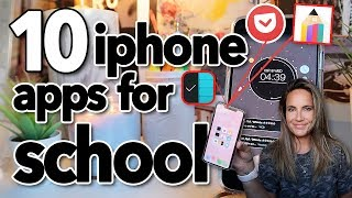 10 iPhone Apps For School Every Student NEEDS!