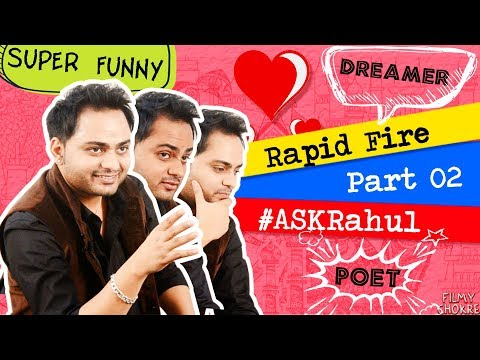 Rahul Kaushik Interview |Part 02| The Melting Words Fb Page | Rahul Answering Fan's Questions !!!