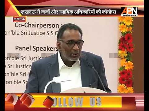SC Judge J Chelameshwar speaks at the judges and lawyers in Lucknow, watch full speech