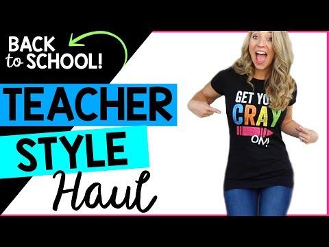 BACK TO SCHOOL TEACHER FASHION HAUL | COLLAB | A Classroom Diva