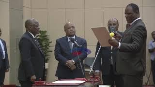 Hivi ndiyo Waziri wa Kilimo, Japhet Hasunga alipokula kiapo