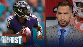 Ravens have to get off to a fast start to beat the Chiefs — Nick Wright | NFL | FIRST THINGS FIRST