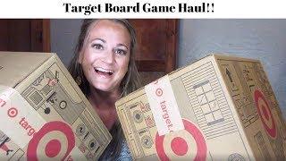 Target Board Game Haul!