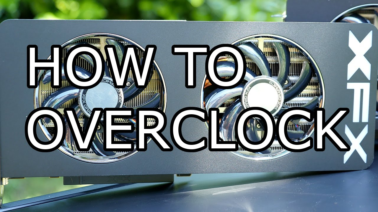 How to Overclock Your Graphics Card! - XFX R9 290X Crossfire Overclocking -  Full Tutorial [4K]