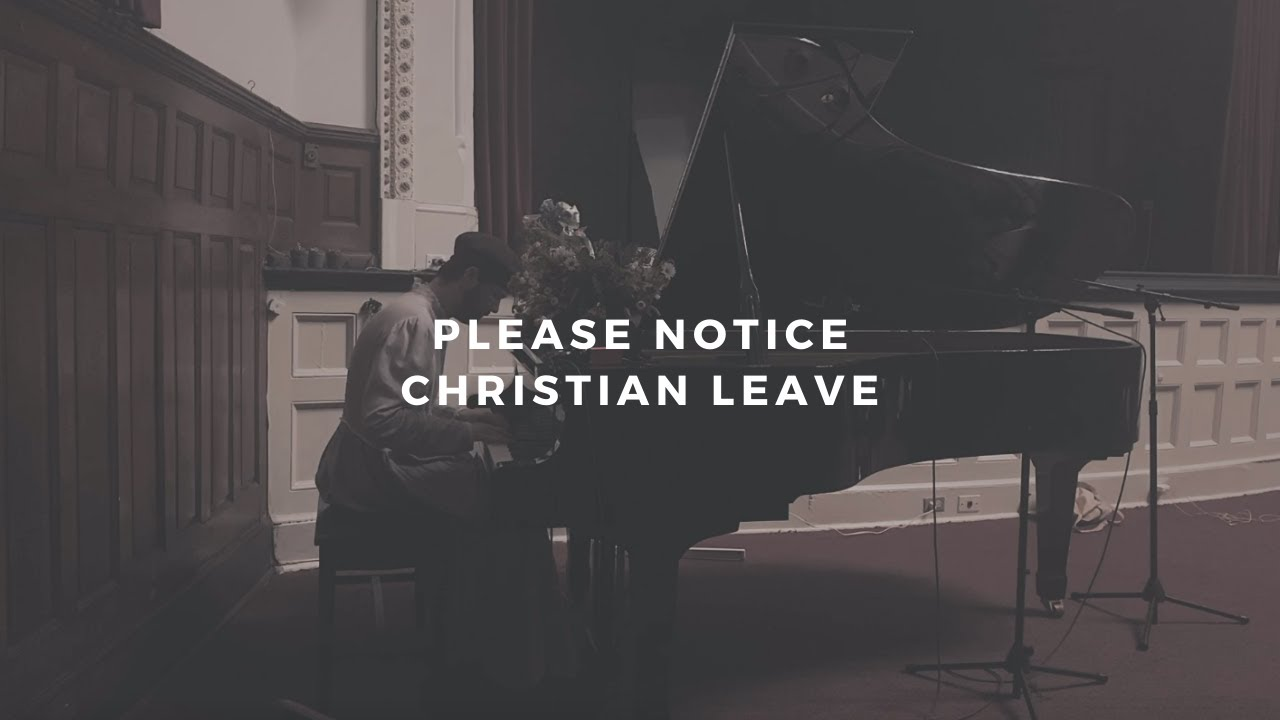 Christian Leave – Please Notice Lyrics