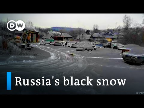 Black snow in Russia   Focus on Europe