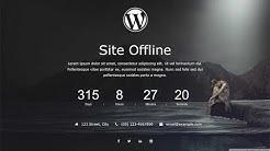 site offline plugin wordpress