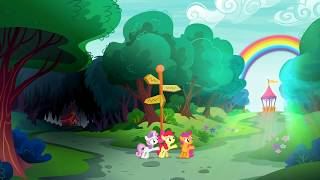 Diamond Tiara vs Cutie Mark Crusaders - La Luz de tu Cutie Mark [Español Latino] [1080p] + Letra