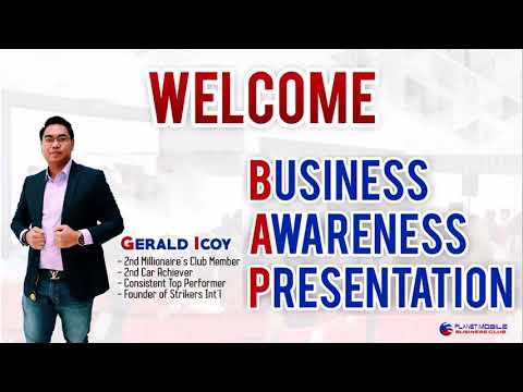 PLANET MOBILE BUSINESS AWARENESS PRESENTATION BY GERALD ICOY (VID#1)