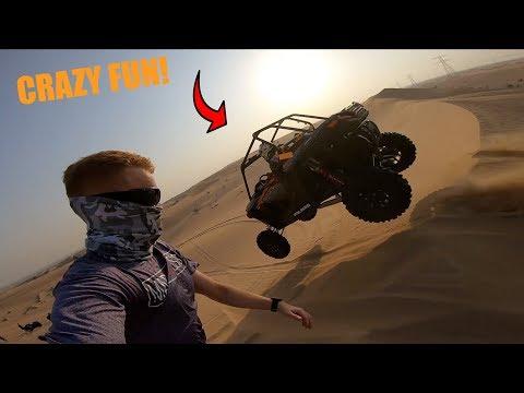 CRAZY QUADBIKING IN DUBAI DESERT *SO MUCH FUN*