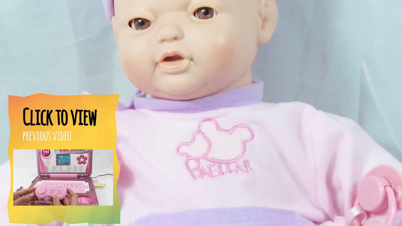 Doll Baby That Gestures And Sounds Moves Mouth And Eyes Toy For