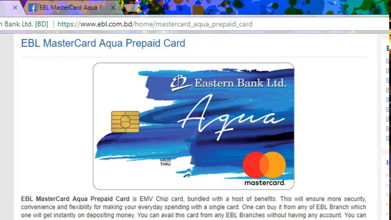 how to get ebl aqua mastercard 2018 a to z prepaid card all q a - How To Get All Your Money Off A Prepaid Card