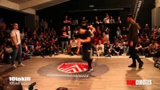 Raw Circles 2013 - Quarter Final - Kido & Pickup (NL-ISR) Vs Deeogo & Mix (POR)