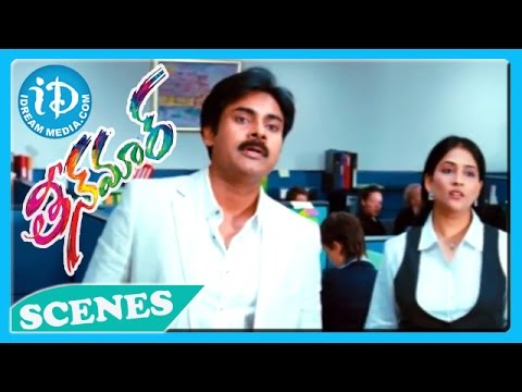Pawan Kalyan Emotional Scene - Teenmaar Movie
