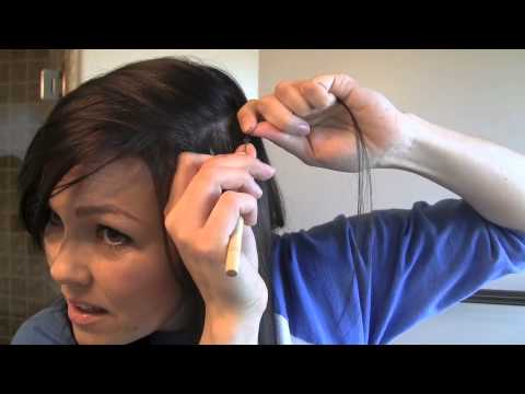 How to do FEATHER HAIR EXTENSIONS | Kandee Johnson