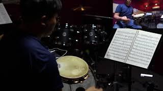 Carnival Overture Tambourine Excerpt. 오케스트라 타악기 탬버린 연주
