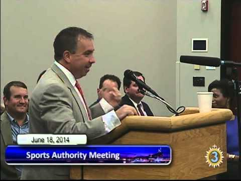 06/18/14 Sports Authority Meeting