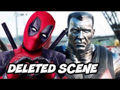 Deadpool Dark Phoenix Scene - Deadpool Predicts Dark Phoenix Ending and Marvel Easter Eggs