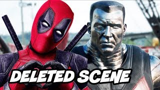 Deadpool Dark Phoenix Scene - Deadpool Predicts Dark Phoenix Ending and Marvel Easter Eggs