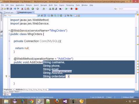 19 Android HOW TO CREATE WebService with Java to connect from Android ...