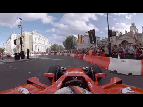 F1 Live London In 360 | Sebastian Vettel And Ferrari
