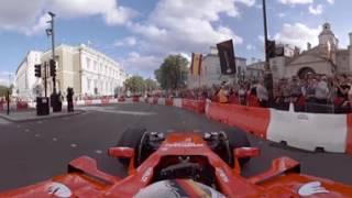 F1 Live London In 360 | Sebastian Vettel And Ferrari thumbnail