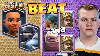 Liam beats Surgical Goblin with Ram Rider Mega Knight decks with Go...