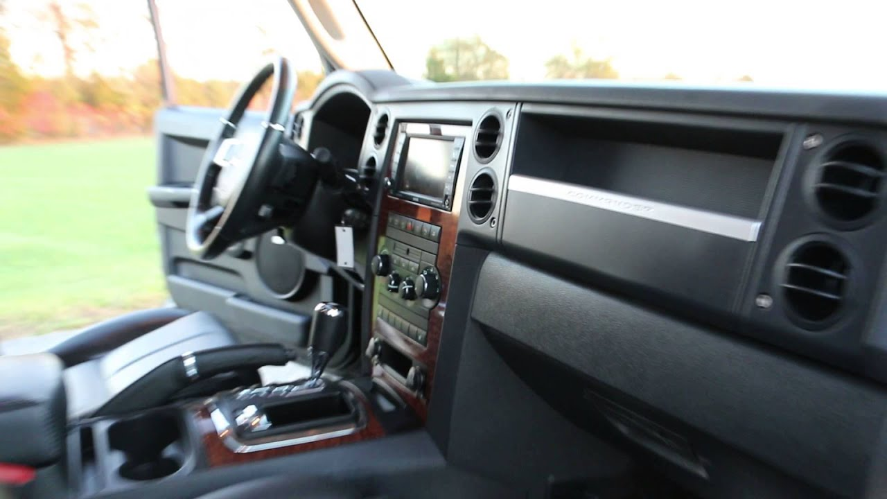 Sold Review Of 2008 Jeep Commander Hemi Limited 4x4 For