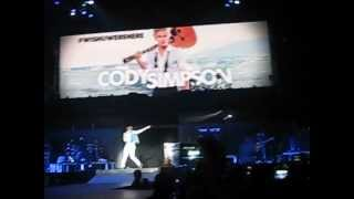 Opening Cody Simpson - Justin Bieber - Believe Tour - Paris/Bercy - 19/03/2013