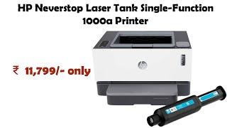 HP Neverstop Laser Tank Single-Function 1000a Printer reviews