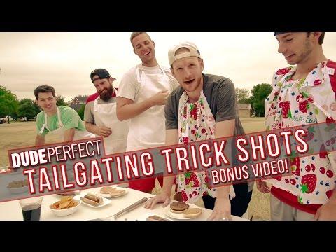 Dude Perfect: Tailgating Trick Shots BONUS Video
