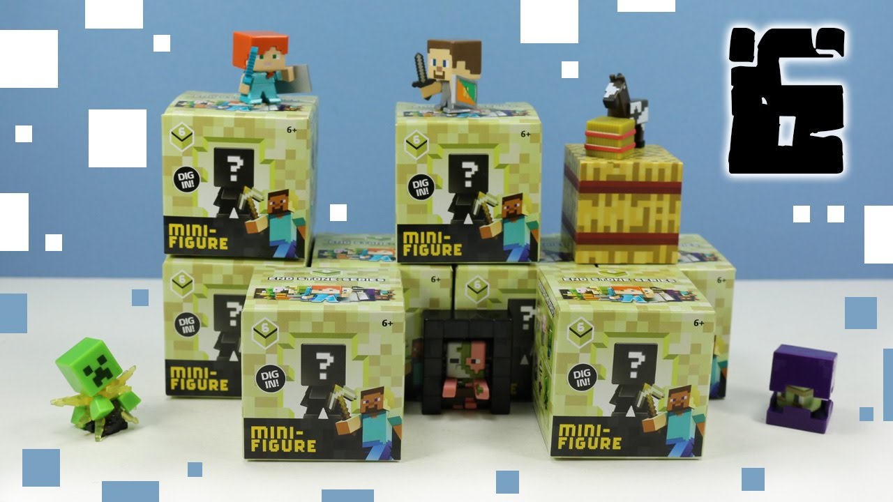 Minecraft Mini Figure End Stone Series 6 Mystery Boxes