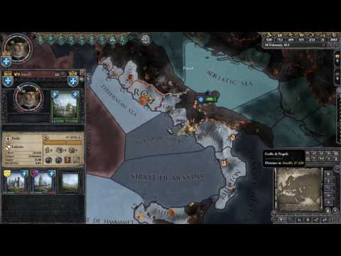 *PSI Live* - Crusader Kings II [Multiplayer] (Patricians of Amalfi) - Part 2: Most Serene Doge
