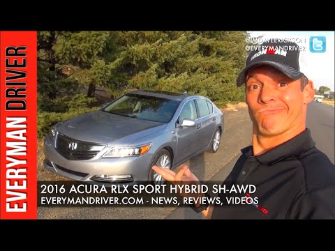2016 Acura RLX Sport Hybrid SH-AWD Review On Everyman Driver