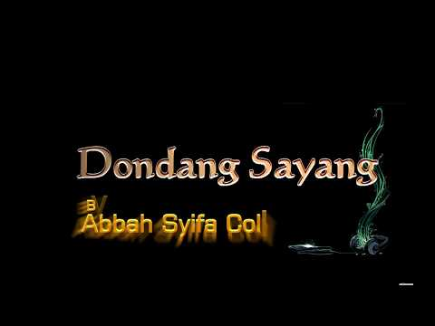 Dondang Sayang No Vocal