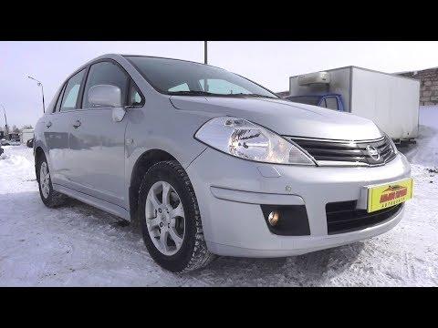 2011 Nissan Tiida. Обзор (интерьер, экстерьер, двигатель).