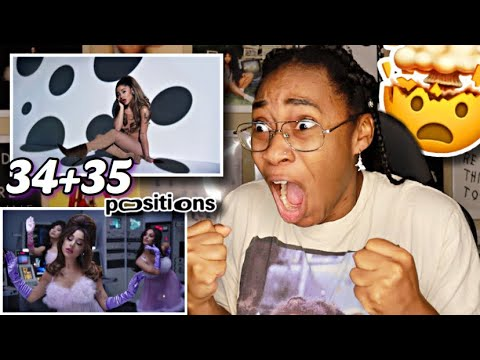 ARIANA GRANDE- 34+35 (OFFICIAL VIDEO) REACTION!! 😭🔥 | Favour