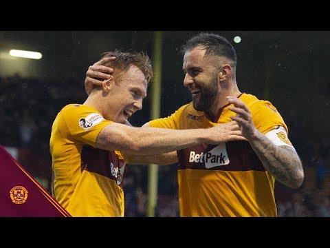 Watch the highlights as Motherwell beat Aberdeen