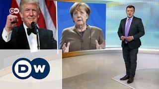 Меркель у Трампа, ее соратник у Путина   DW Новости (17 03 2017)