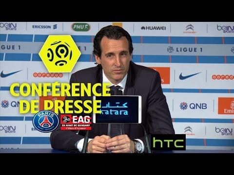 Conférence de presse Paris Saint-Germain - EA Guingamp (4-0) - 32ème journée - Ligue 1 / 2016-17
