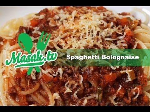 Spaghetti Bolognaise | Resep #014